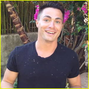 Colton Haynes Launches New Website & Merchandise Line!
