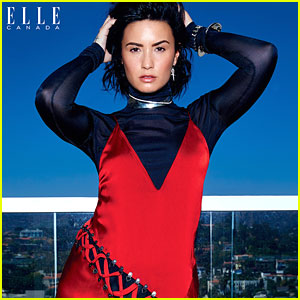 Demi Lovato Slays The September 2016 Cover of Elle Canada