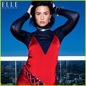 Demi Lovato Slays The September 2016 Cover of Elle Canada
