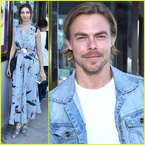 Derek Hough & Angela Sarafyan Step Out For 'I Am Not A Guru' Documentary Event