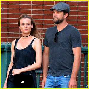 Diane Kruger Spends 40th Birthday in NYC with Joshua Jackson!