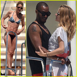Doutzen Kroes Packs On the PDA in Saint-Tropez Bikini Pics!