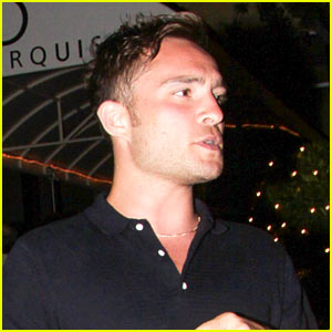 Ed Westwick Flirted With Chace Crawford's Grandma!