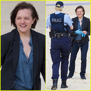 Elisabeth Moss & Gwendoline Christie Get to Work on 'Top of the Lake' Season 2