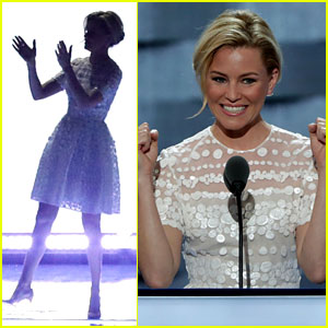 Elizabeth Banks Spoofs Donald Trump, Compares Him to Effie Trinket During DNC Speech (Video)