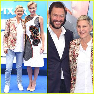 Ellen DeGeneres & Portia de Rossi Premiere 'Finding Dory' in London!