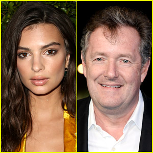 Emily Ratajkowski Has Perfect Response to Piers Morgan Tweet