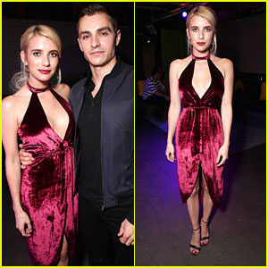 Emma Roberts & Dave Franco Hit MTV Fandom Awards 2016 with Stephen Amell