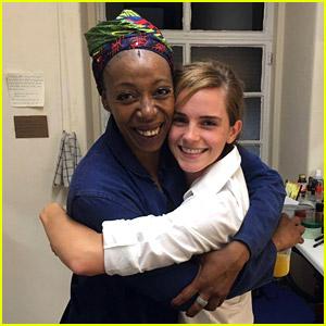 Emma Watson Sees 'Harry Potter' Play, Meets Older Hermione!