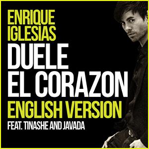 Enrique Iglesias Drops English Version Of 'Duele El Corazon' feat. Tinashe - Watch Lyric Video!