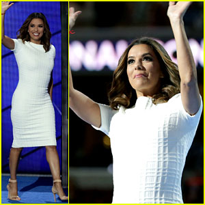 Eva Longoria Slams Donald Trump During DNC Speech (Video)