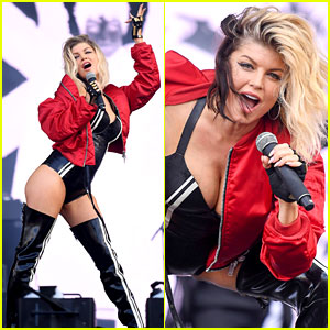 Fergie Struts Her Stuff for Wireless Festival in London!