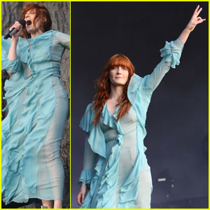 Florence Welch Rocks the British Summer Time Festival 2016