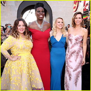'Ghostbusters' Cast Stuns on Hollywood Premiere's Green Slime Carpet