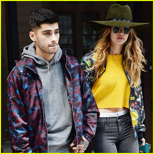 Gigi Hadid & Zayn Malik Reunite After Holiday Weekend