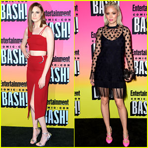 Guardians' Karen Gillan & Pom Klementieff Party with EW at Comic-Con!