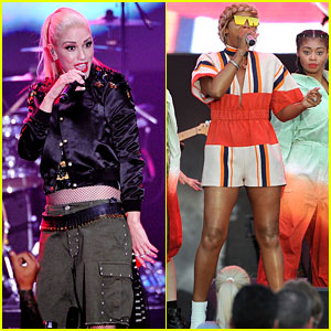 Gwen Stefani & Eve Rock Out at MLB All-Star Concert!