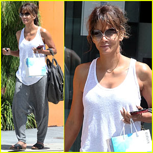 Halle Berry Reveals Her Happy Place!