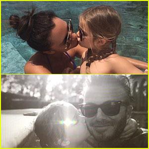 David & Victoria Beckham Share Sweet Birthday Messages for Daughter Harper!