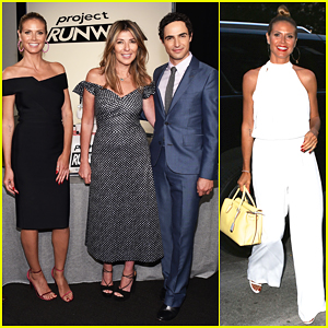 Heidi Klum Celebrates 15 Years Of 'Project Runway'!
