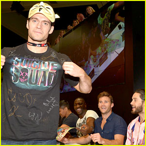Henry Cavill Wears Disguise to Comic-Con, Pranks 'Suicide Squad' Cast! (Video)