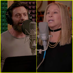 Hugh Jackman Sings 'Any Moment Now' with Barbra Streisand - Watch Now!