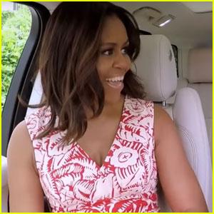 James Corden Teases Carpool Karaoke With Michelle Obama