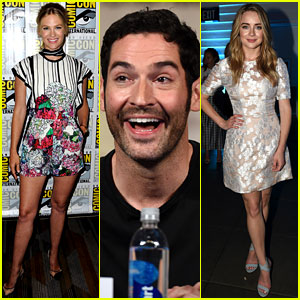 January Jones & Other Fox Stars Promote Shows at Comic-Con!