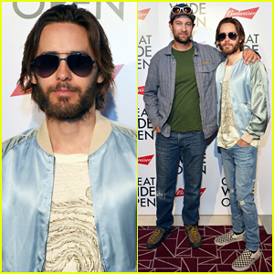Jared Leto Climbs Up Tuolumne Meadows To Celebrate 'Great Wide Open'!