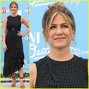 Jennifer Aniston Is So Stylish at Giffoni Film Festival