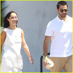 Cara Santana & Jesse Metcalfe Show Off Hot Beach Bodies For Fourth of July!