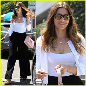 Jessica Biel Takes Care of Biz in Beverly Hills | Jessica Biel : Just ...
