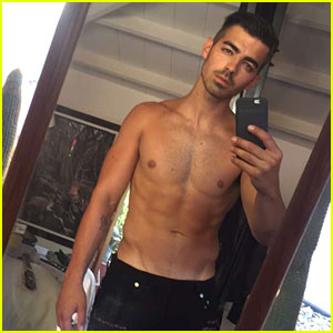 Joe Jonas Shares Shirtless Pic After Confirming DNCE's Album is Done