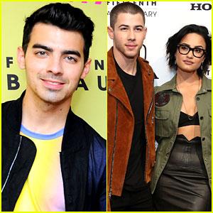 Joe Jonas Talks Nick Jonas & Demi Lovato's Close Relationship