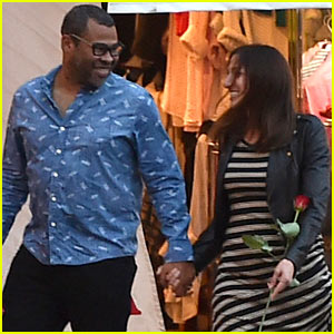 Jordan Peele & Chelsea Peretti Honeymoon in Italy After Airport Trouble!