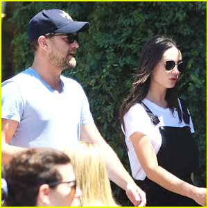 Joshua Jackson Grabbed Coffee with Crystal Reed Last Month