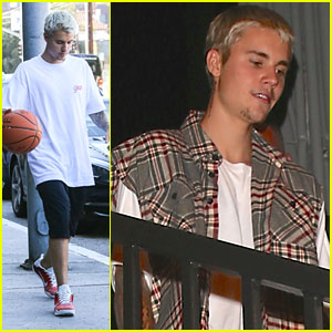 Justin Bieber Celebrates 'Cold Water' Release In Los Angeles