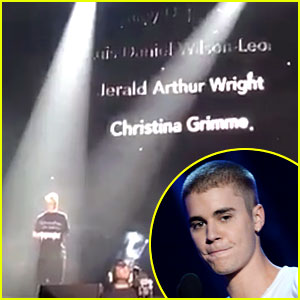 Justin Bieber Pays Tribute to Christina Grimmie & Pulse Victims During Orlando Concert (Video)