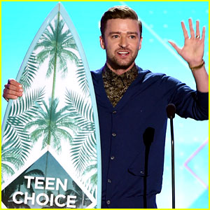 Justin Timberlake Delivers Moving Acceptance Speech at Teen Choice Awards 2016 - Watch Now!