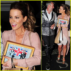 Kate Beckinsale Busts a Move for Her Birthday Bash!