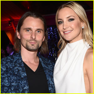 Kate Hudson Reunites With Matt Bellamy for Son Bing's Birthday
