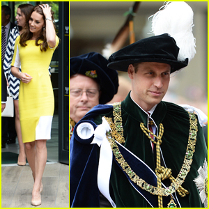 Kate Middleton Visits Wimbledon While Prince William Attends Thistle Service!