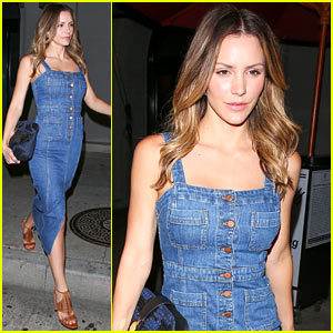 Katharine McPhee is Ready for the Olympics... Almost!