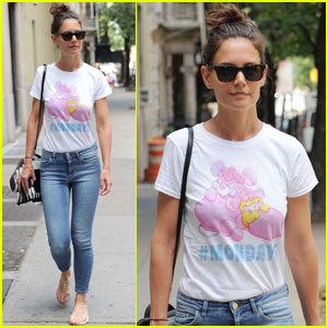 Katie Holmes Has a Case of the Mondays!