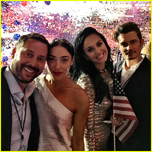 Katy Perry Gets Support From Boyfriend Orlando Bloom & Mia Moretti At DNC 2016!