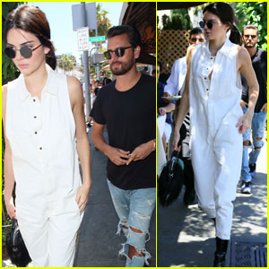 Kendall Jenner & Scott Disick Grab Lunch to Kick Off Holiday Weekend