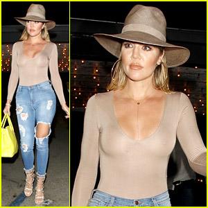 Khloe Kardashian Is Her Older Sister Kim's 'Body Icon'