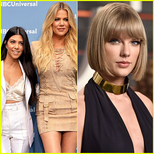 Kim Kardashian's Sisters React to Kanye West & Taylor Swift's 'Famous' Phone Call Video