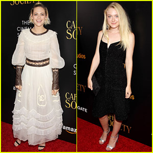 Kristen Stewart Gets Pal Dakota Fanning's Support at 'Cafe Society' NYC Premiere!