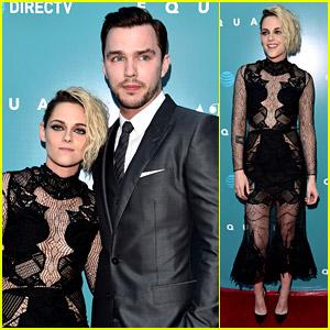 Kristen Stewart Premieres 'Equals' in Hollywood with Nicholas Hoult!